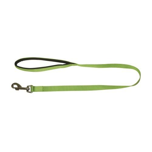 Vodítko pro psy s poutkem, nylonové, 100 cm, zelené