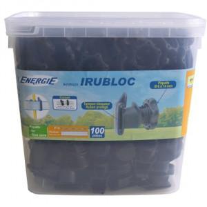 Izolátor návlečný IRUBLOC na sklolaminátové tyče - pro pásku, kbelík 100ks