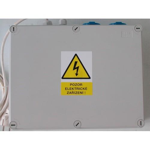 SMS ovladač pro elektrické ohradníky se zdrojem 230V, až 3 zdroje