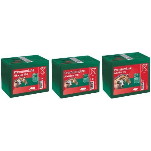 Alkalická baterie pro elektrický ohradník 9V, 120Ah