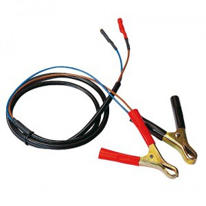 Přípojný kabel k autobaterii