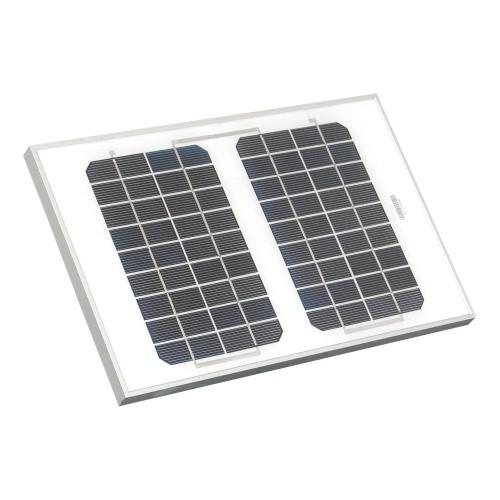 Solární panel pro elektrický ohradník PS a EcoPower plus 8 W/12 V + gel baterie 12V, 12 Ah + síťový adaptér 230 V