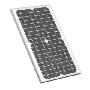 Solární panel 25 a 45 W/12 V pro elektrické ohradníky AN 3100, AD 3000 a AN 5500