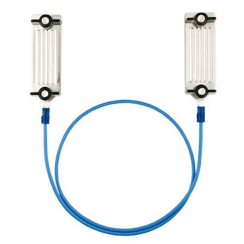 Propojovací kabel na pásku, 60cm, nerez