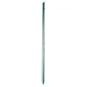 Zemnící tyč pro elektrické ohradníky, pozinkovaná, 1m