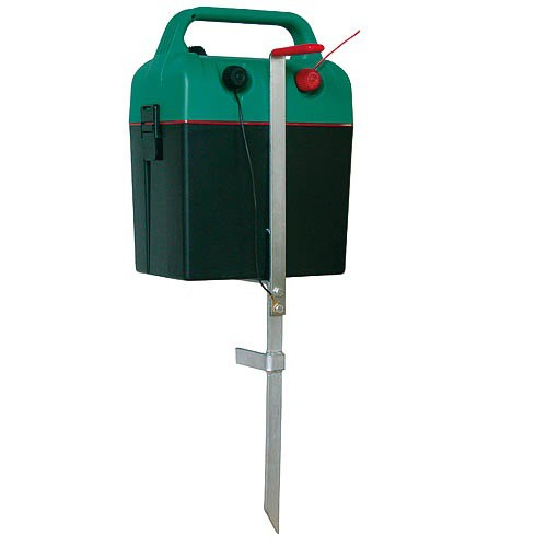 Zemnící tyč pro elektrické ohradníky, pozinkovaná, malá