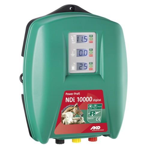 Elektrický ohradník síťový PowerProfi Digital NDI 10000 s automatickou regulací