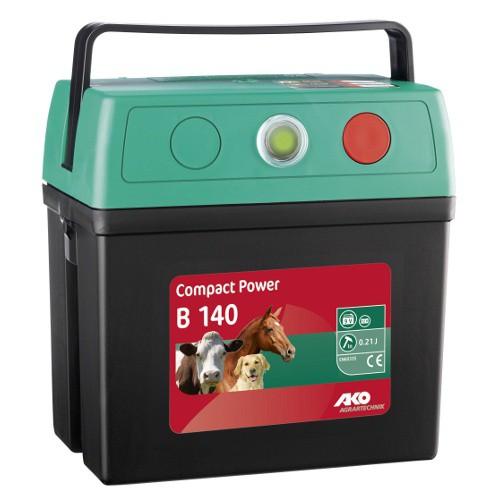 Ohradník bateriový COMPACT POWER B 140, určen pro koně, psy a malá zvířata