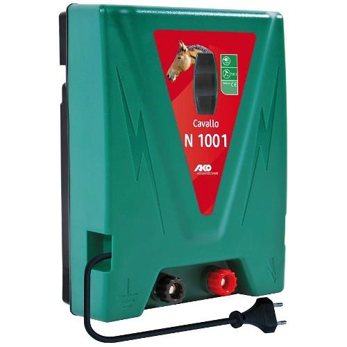 Elektrický ohradník CAVALLO N 1001, určen pro koně, psy a malá zvířata