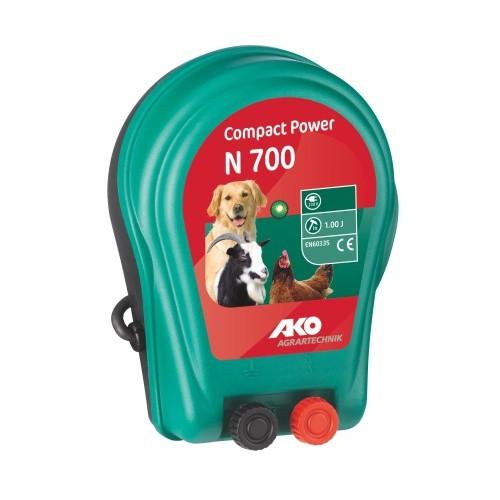 Elektrický ohradník COMPACT POWER N 700, určen pro koně, psy a malá zvířata