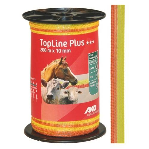 Páska pro elektrický ohradník Top-Line Plus, 10mm, 200m