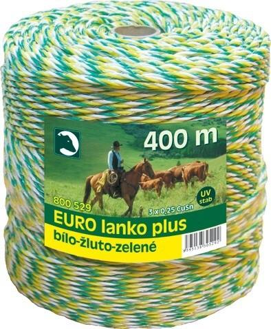 Lanko pro elektrické ohradníky, Ø 3mm, 400m