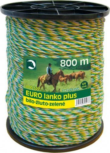 Lanko pro elektrický ohradník, Ø 3mm, 800m