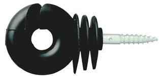 Izolátor pro elektrické ohradníky kruhový s vrutem 6mm velký
