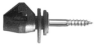 Izolátor pro elektrické ohradníky univerzální s vrutem 5mm