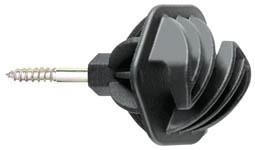 Izolátor pro elektrické ohradníky, lano do 8mm s vrutem 6mm