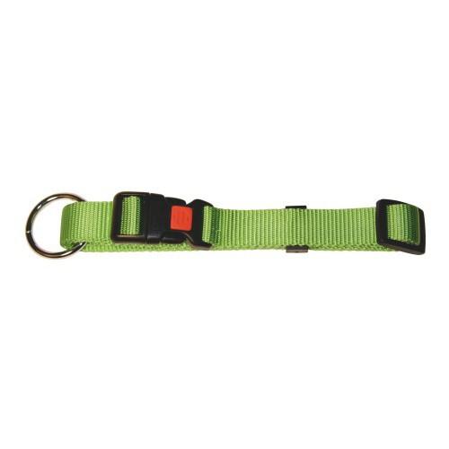 Obojek pro psa 40-55cm, nylonový, zelený