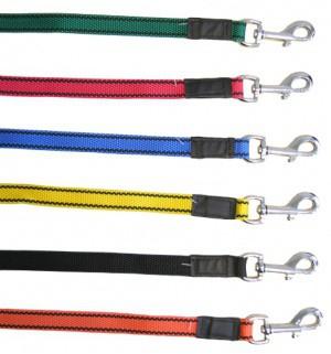Vodítko pro psy s poutkem, nylon, 200cm, mix barev