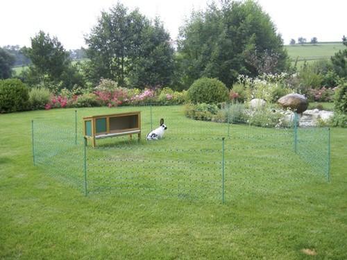 Síť pro elektrický ohradník pro králíky, v. 65cm, délka 12m