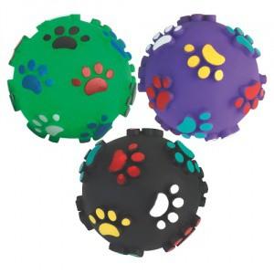 Hračka pro psa - pískací míček 10cm