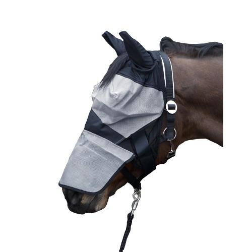 Maska proti hmyzu s krytkou přes nos