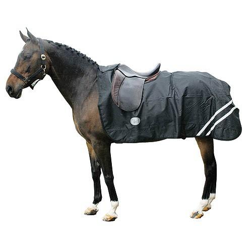 Deka pro koně bederní, nepromokavá, reflexní pruhy