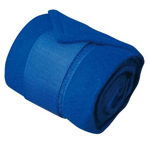 Bandáže fleece, 4ks, modré
