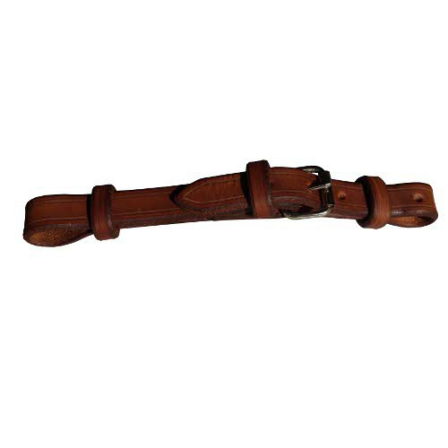 Podbradní řemínek, westernový, kožený