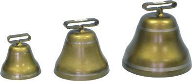 Zvonec ocelový, bronzový