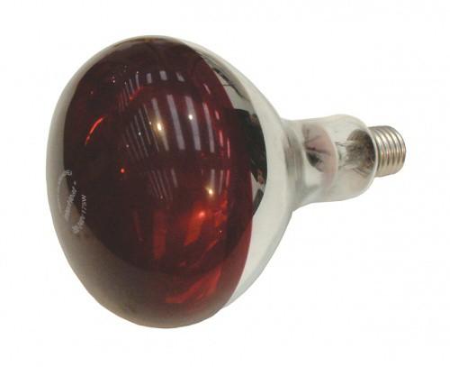 Infražárovka INTERHEAD červená, 100W / 150W / 175W / 250W