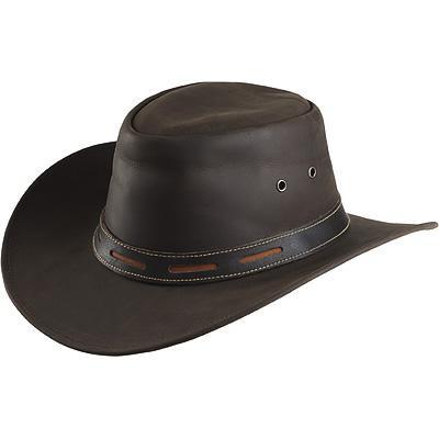 Westernový klobouk RANDOL'S Smooth kožený