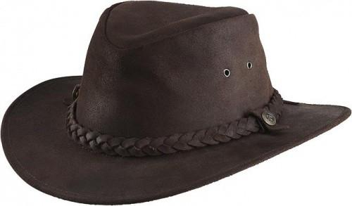 Westernový klobouk RANDOL'S Oiled Suede kožený