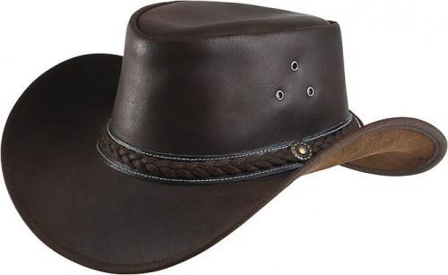 Westernový klobouk RANDOL'S Style kožený