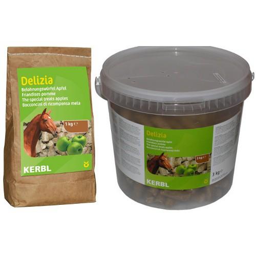 Pamlsky pro koně DELIZIA, jablečná příchuť