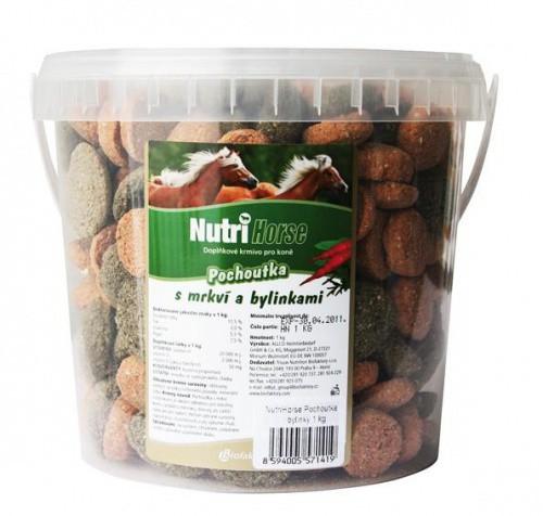 NUTRI HORSE Pochoutka s mrkví 1kg