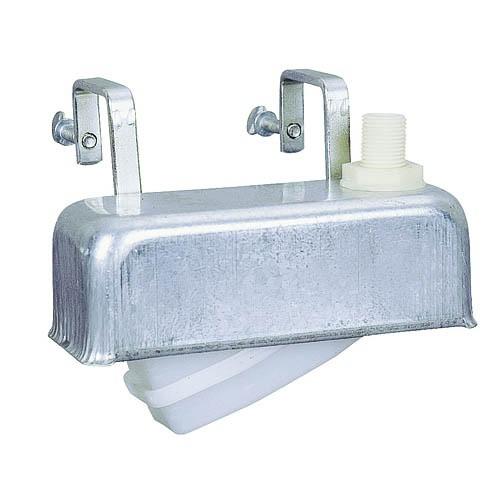 Plovákový ventil s nerezovým krytem a úchyty