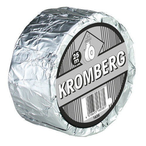Dehtová páska KROMBERG- 25 m x 45 mm, černá