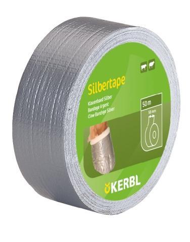 Samolepící páska SILVER na kopyta  50 mm x 50 m