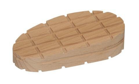 Dřevěný špalek pro paznehty šikmý