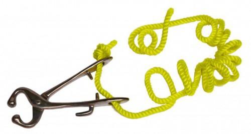 Mulcové kleště vodící s provazem