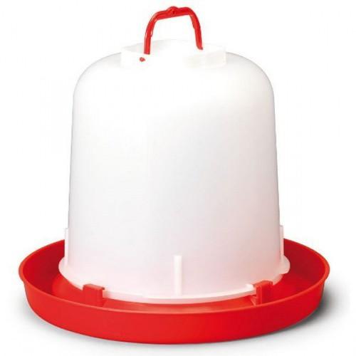 Napáječka pro drůbež plastová s rukojetí 10 l