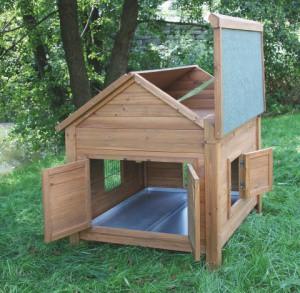 Kurník pro drůbež - domek pro králíky