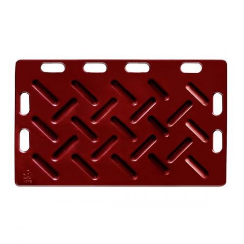 Naháňka pro prasata plastová, červená 126 x 76 x 2,5 cm