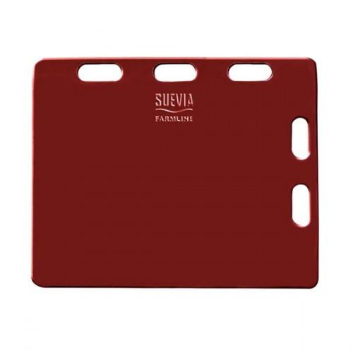 Naháňka pro prasata plastová, červená 94 x 76 x 2,5 cm
