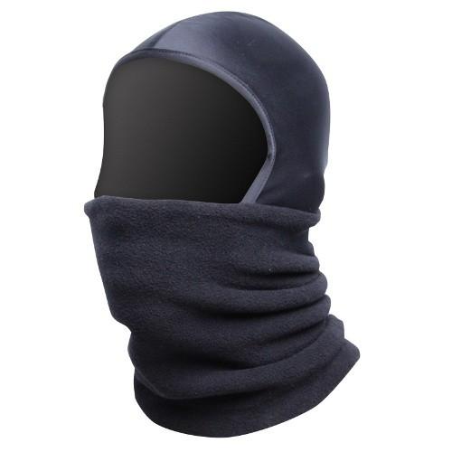 Kukla pod přilbu, fleece, vel. UNI, černá