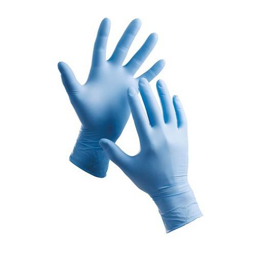 Jednorázové rukavice nitrilové BARBARY - pudrované 100 ks