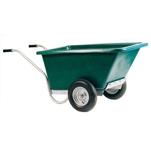 Dvoukolový zahradní vozík na hnůj 255 l
