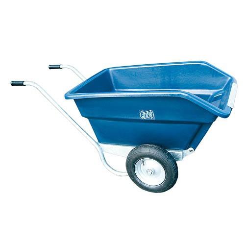 Dvoukolový zahradní vozík na hnůj výklopný 255 l