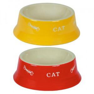Miska pro kočku keramická, 200 ml