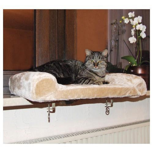 Odpočívadlo pro kočky na parapet
